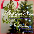 badge Mistletoe Hop