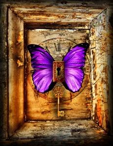 ButterflyPurple3_GrungeFrame